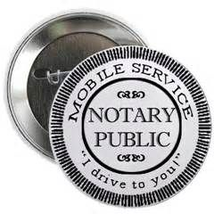 Mobile Notary Service by the page